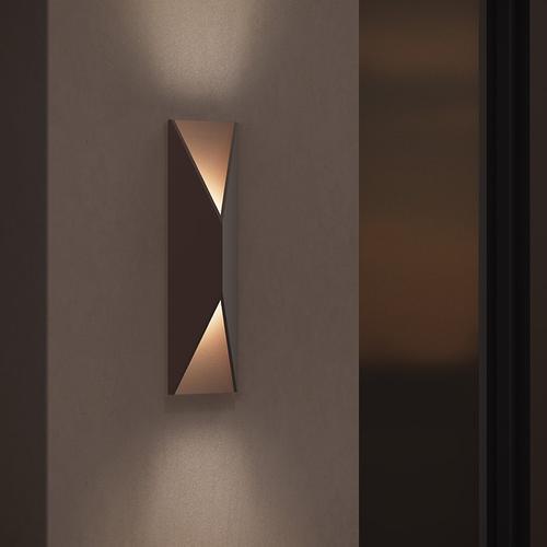 Sonneman - A Way of Light - Prisma LED Sconce [Size=Standard, Color/Finish=Textured White]