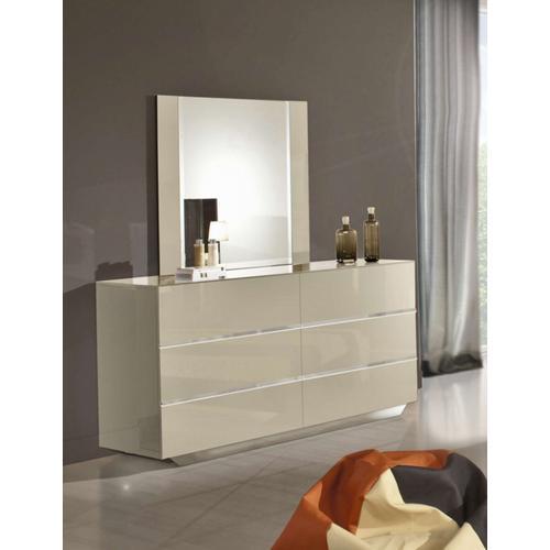 Modrest Luxor Italian Modern Beige Mirror