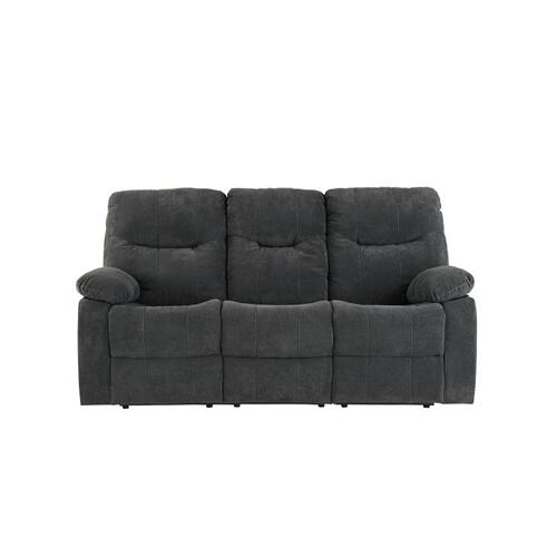 Dinero Charcoal Motion Recliner Sofa
