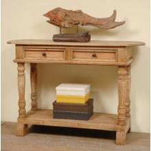 CC-TAB2287S-SV  Console Table  Salvage Brown