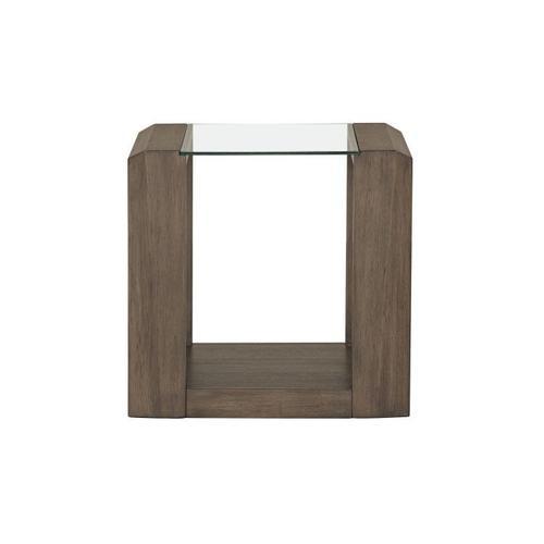 Sonata Brown End Table