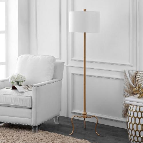 Earie Floor Lamp - Antique Gold