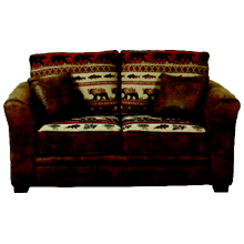 See Details - Contemporary Loveseat