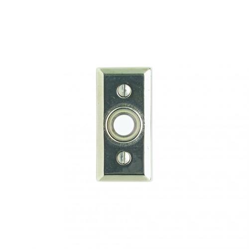 Rectangular Doorbell Button Silicon Bronze Brushed