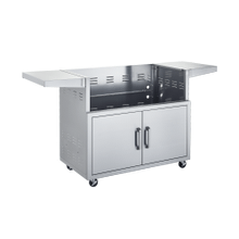 View Product - 42-INCH STAINLESS CART