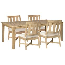 Outdoor Dining Table and 4 Chairs