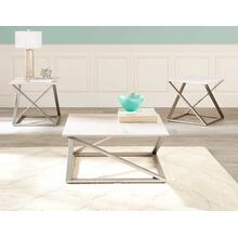 Zurich 3-Piece Occasional Set (Cocktail Table & 2 End Tables)