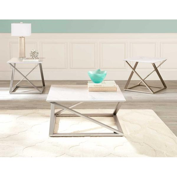 See Details - Zurich 3-Piece Occasional Set (Cocktail Table & 2 End Tables)