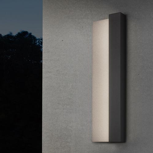 "Sonneman - A Way of Light - Radiance LED Sconce [Size=20"", Color/Finish=Textured Bronze]"