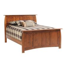 Queen Bordeaux Panel Bed