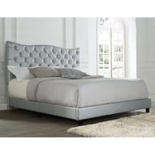 Marilyn King Bed, Silver