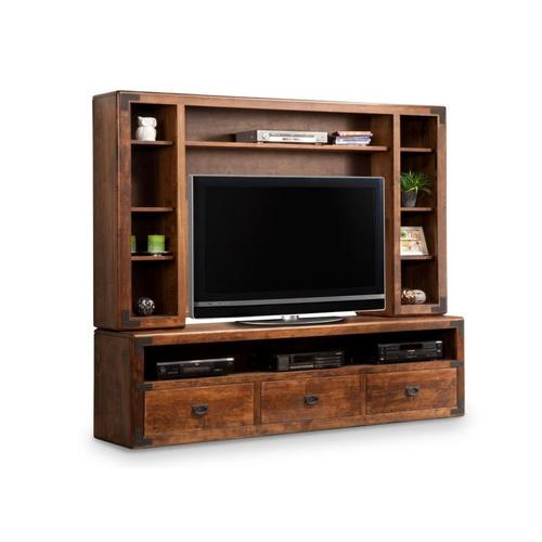 Handstone - Saratoga HDTV Cabinet with Hutch 44'' TV Opening