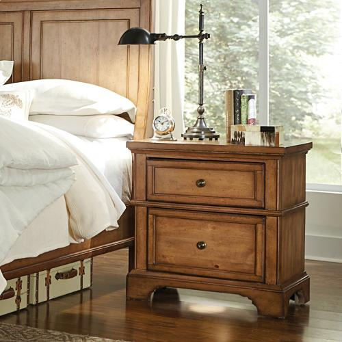 LIV360 Two Drawer Nightstand