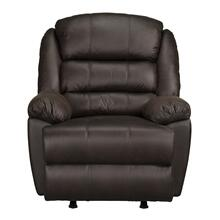 Garrett Manual Motion Rocker Recliner, Chocolate