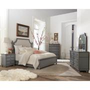 Bella Grigio - Six Drawer Dresser - Chipped Gray Finish Product Image