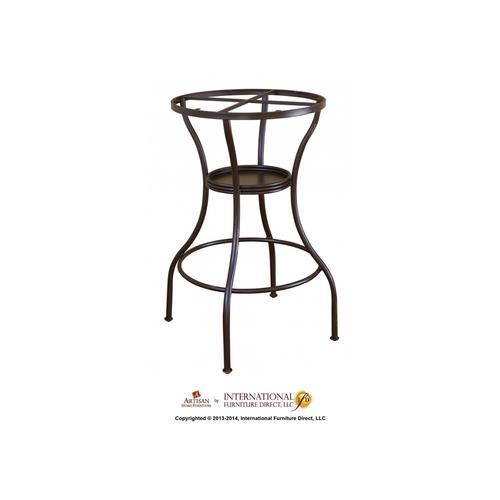 Artisan Home Furniture - Iron Base Curved Leg w/Footrest
