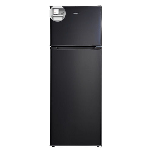 Galanz 12.0 Cu.Ft Top Mount Refrigerator with Bulit-in Ice Maker in Black