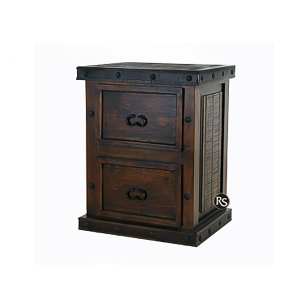 Gran Hacienda 2-Drawer File Cabinet
