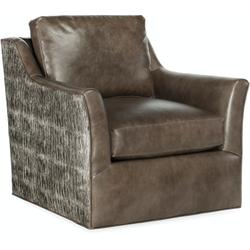 Bradington Young Marleigh Swivel Chair 8-Way Tie 772-25SW