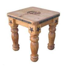 """See Details - 5"""" Leg Star End Table"""