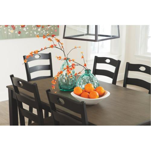 Froshburg Dining Room Table and Chairs (set of 7)