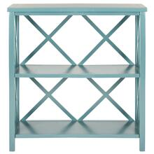 Liam Open Bookcase - Teal