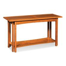 "Sheridan Sofa Table with Shelf, 56"""