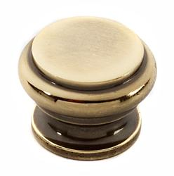 Tuscany Bread Box Knob A230 - Unlacquered Brass Product Image