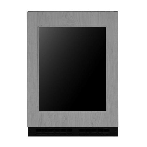 24-In Built-In High Efficiency Single Zone Wine Refrigerator with Door Style - Panel Ready Frame Glass, Door Swing - Right