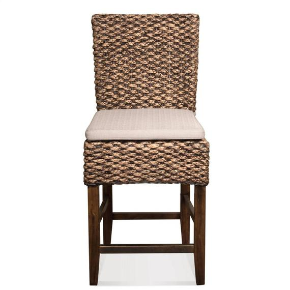 Riverside - Mix-n-match Chairs - Woven Counter Stool - Hazelnut Finish