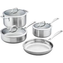 ZWILLING Spirit Stainless 3-ply 7-pc Stainless Steel Cookware Set