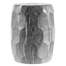 See Details - Dain Garden Stool - Rustic Black