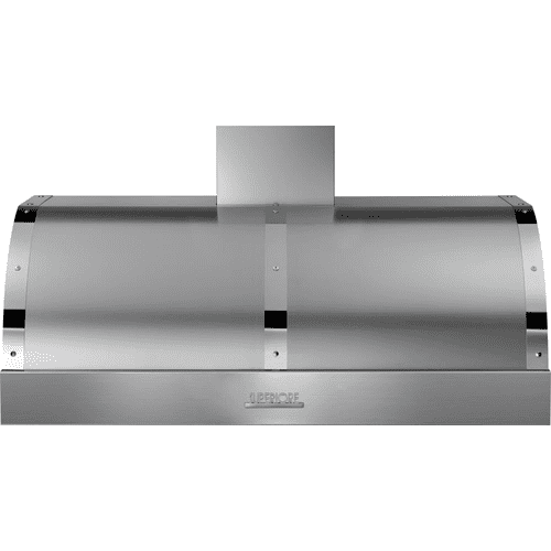 Superiore - Hood DECO 48'' Stainless steel, Chrome 1 blower, electronic buttons control, baffle filters