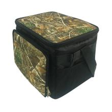 See Details - Brentwood Kool Zone CM-3000 30-Can Insulated Cooler Bag with Hard Liner, Realtree Edge Camo