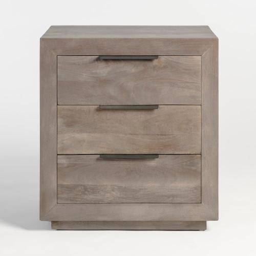 Holden Three Drawer Nightstand