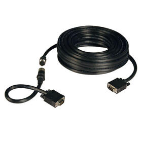 VGA Easy Pull High-Resolution RGB Coaxial Cable (HD15 M/M), 50 ft.