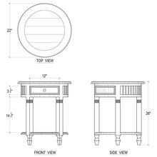 View Product - Hollister Side Table