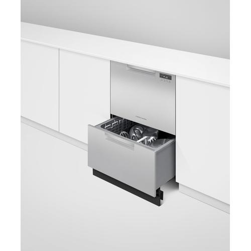 Fisher & Paykel - Double DishDrawer™ Dishwasher, Tall, Sanitize