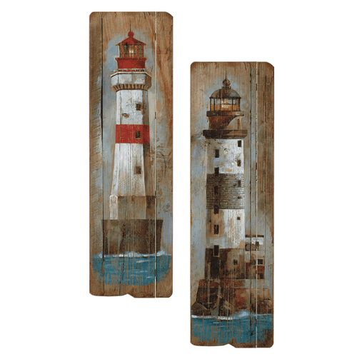 Lighthouse Wall Decor (2 pc. ppk.)