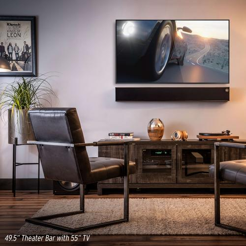 Product Image - Heritage Theater Bar - High End Sound Bar - Black Ash