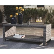 Salem Beach Rectangular Cocktail Table Gray