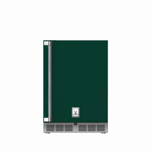 """Hestan - 24"""" Hestan Outdoor Dual Zone Refrigerator with Wine Storage (Solid Door) - GRWS Series - Grove"""