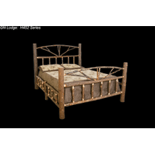 H452 Hickory King Bed