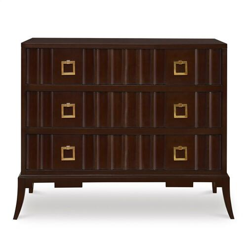 Ambella Home - Magic Fluted Chest - Chestnut Brown