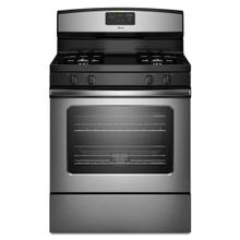 See Details - Amana® 5.0 cu. ft. Gas Oven Range with Easy Touch Electronic Controls - Stainless Steel