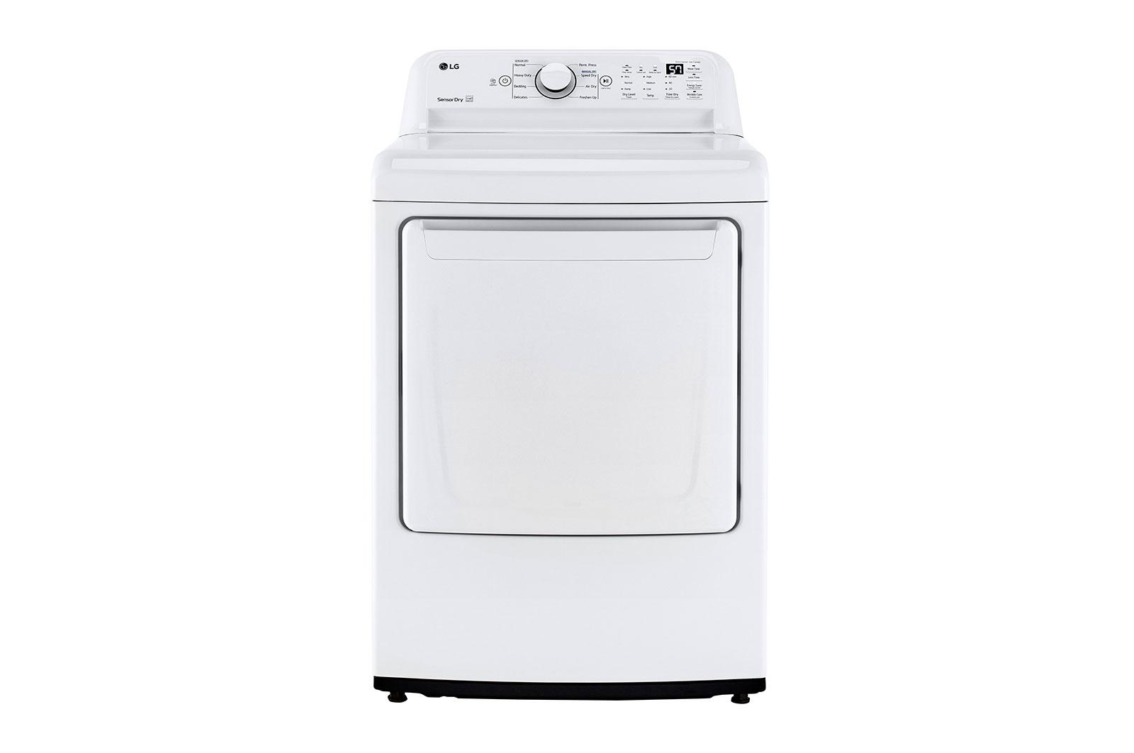 LG Appliances7.3 Cu. Ft. Ultra Large Capacity Top Load Electric Dryer With Sensor Dry Technology