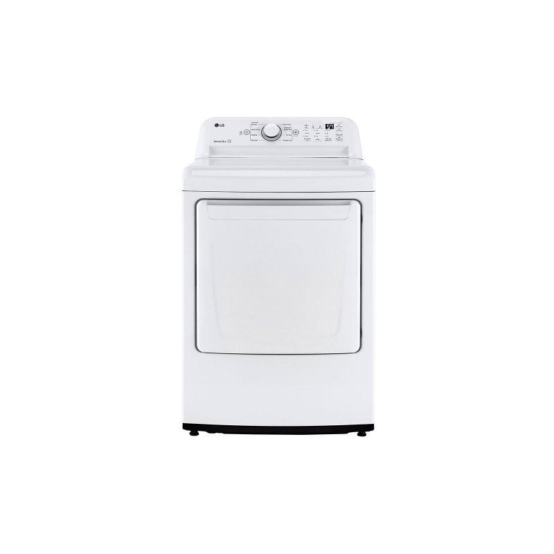 7.3 cu. ft. Ultra Large Capacity Top Load Electric Dryer with Sensor Dry Technology