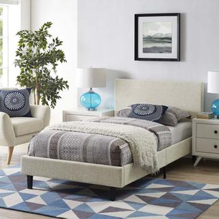 Anya Twin Bed in Beige