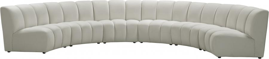 "Infinity Modular 6pc. Sectional - 174"" W x 85"" D x 33"" H"