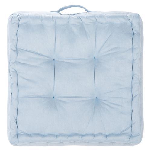 Gardenia Floor Pillow - Light Blue